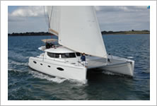 Catamaran charter in French and Italian Riviera