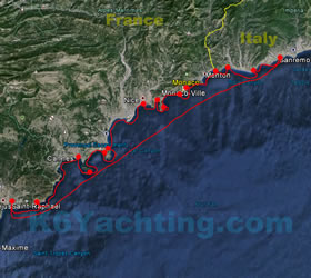 14 Days From Saint-Raphael to San Remo