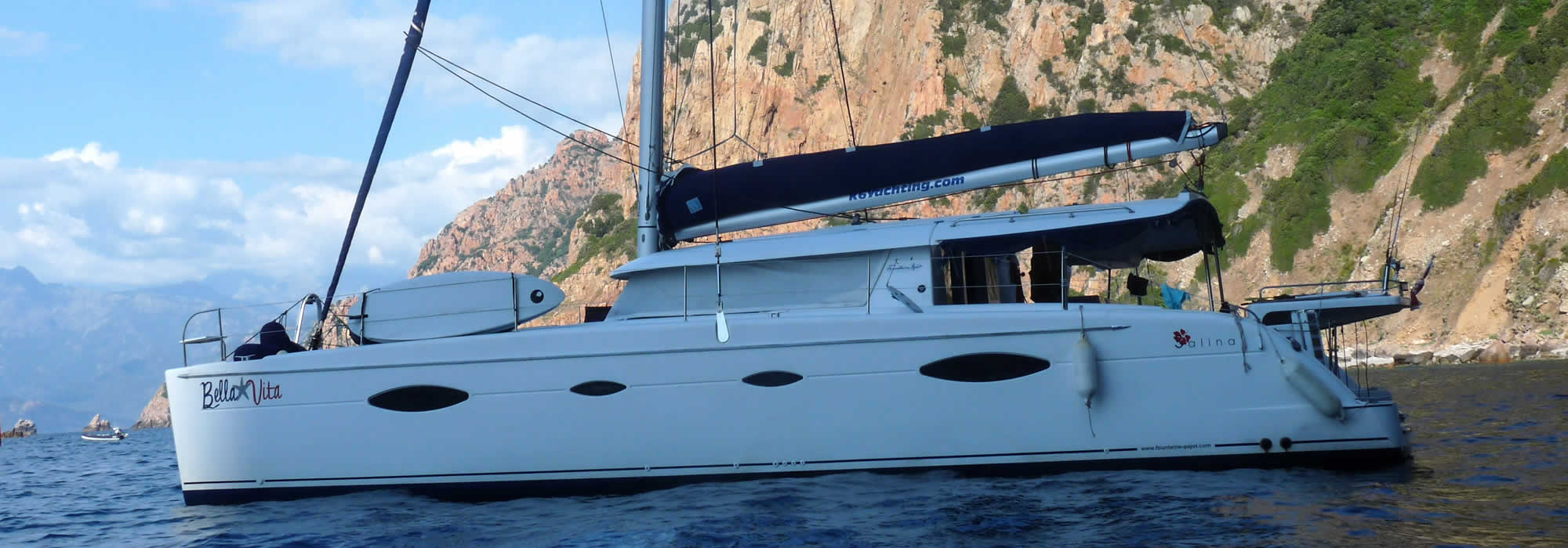 Rent a catamaran french riviera